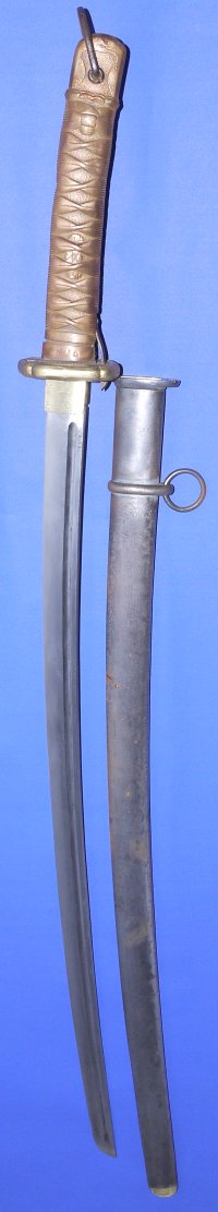 Early WW2 Japanese NCO's Copper Hilted Shin Gunto Katana