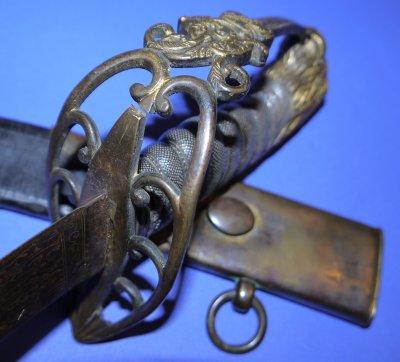 1803P Napoleonic British Infantry Officer's Sword