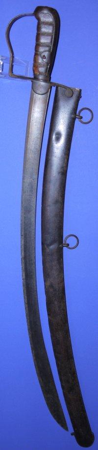 1796 Pattern Variant British Light Cavalry Officer's Sword