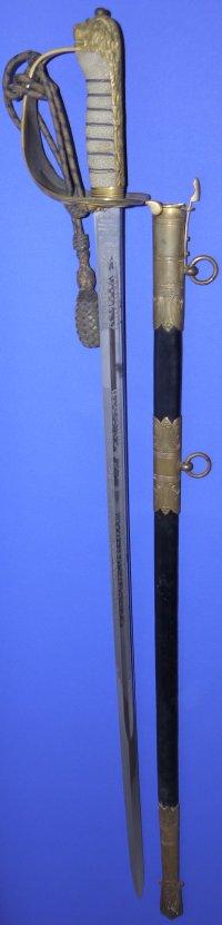 George V British Royal Navy Officer's Wilkinson Sword