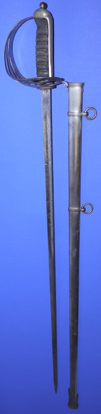 WW1 British Coldstream Guards Named Officer's Sword