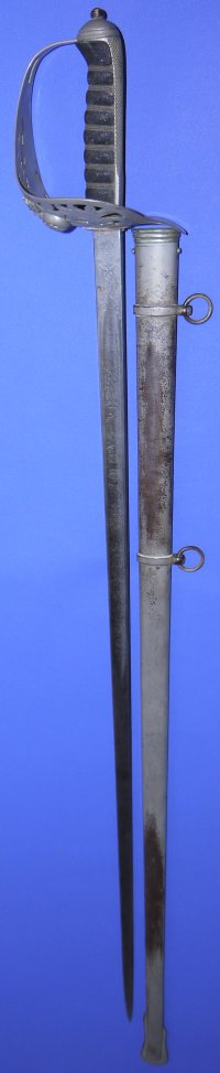 Victorian British Northumberland Fusiliers Named Officer's Sword