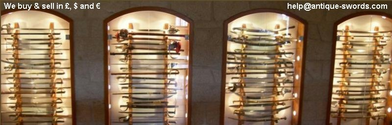 Antique Swords .Com Display Cases