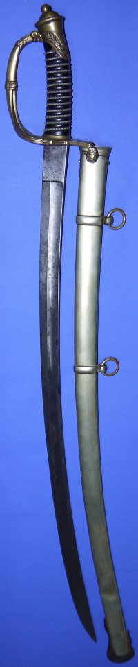 1852M pre-1880 Dutch Infantry Officer's Sword, Segers / Ijzerhouwer