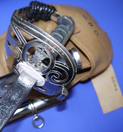 George VI British Gurkha Rifles Officer's Wilkinson Sword