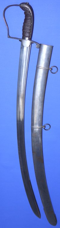 Circa 1810-1815 British Royal Horse Artillery Officer's Undress Sword / Sabre