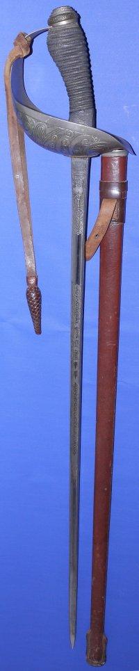 George VI British Cavalry Officer's Wilkinson Sword
