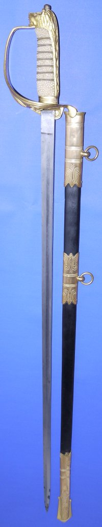 ERII British Royal Navy Officer's Sword, Sold
