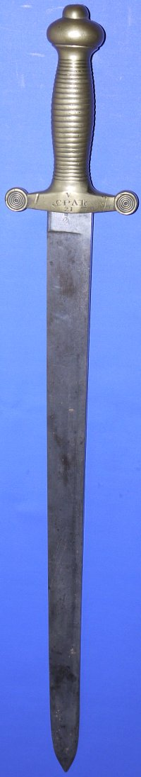 1855 Pattern Cinque Ports British Land Transport Corps Sword, Sold