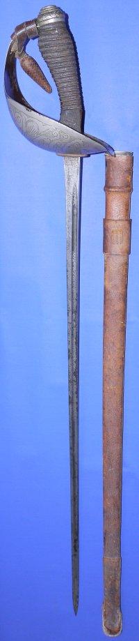 George V British 1912 Pattern Cavalry Officer's Wilkinson Sword