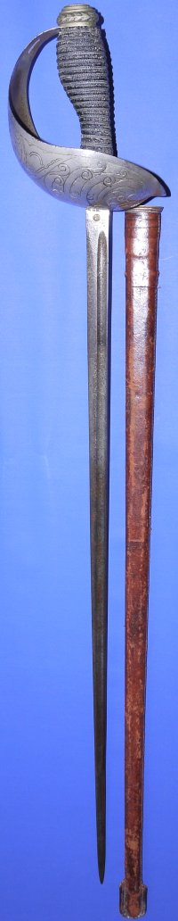 George V / WW1 era 1912P British Cavalry Officer's Sword