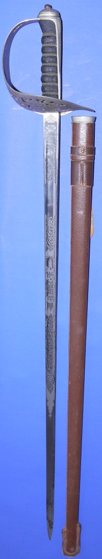 Queen Elizabeth 2nd British Army Officer's Wilkinson Sword, Sold