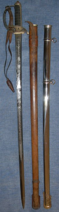 Wilkinson Patent Solid Hilt Cavalry Sabre