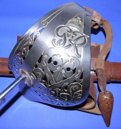 Quality WW2 era British Infantry Officer's Sword
