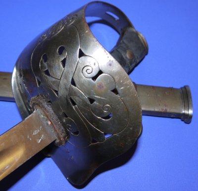 British 1905 Pattern Edward VII Staff Sergeant's Wilkinson Sword