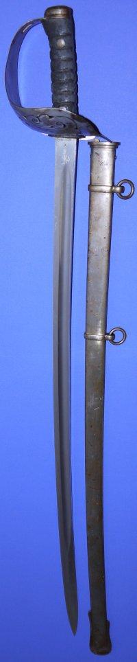WW1 British 1905P RCR / CEF Infantry Sergeant's Wilkinson Sword, Sold