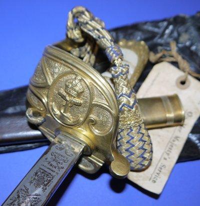 WW2 HMAS Implacable 1771 Squadron Fighter Pilots Sword