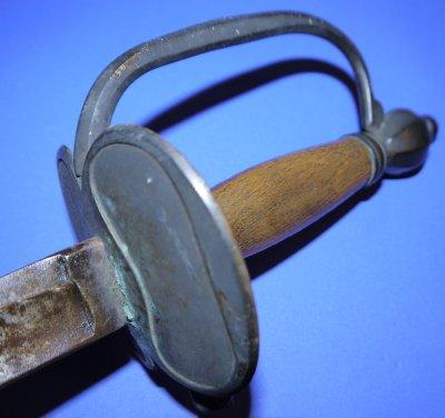 American Revolutionary War British Infantry Officers Short Sword