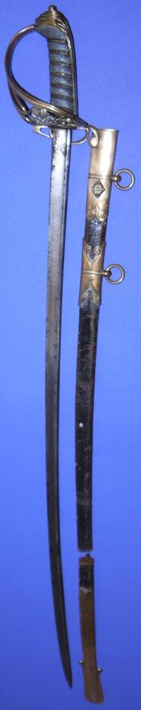 1821P George IV British Infantry Officer's Sword, Sold