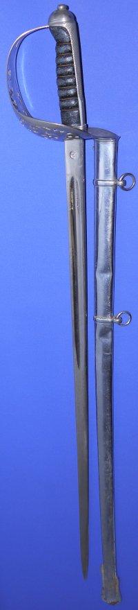 British Edward VII Infantry Officer's Sword