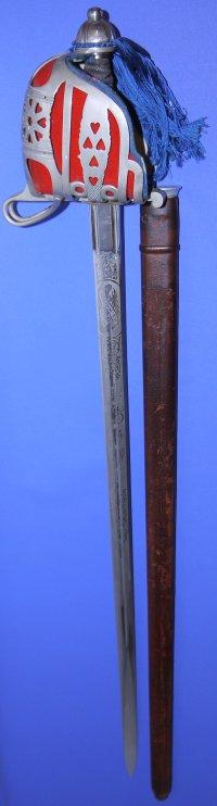 George V Scottish Gordon Highlanders Officer's Broadsword, Sold