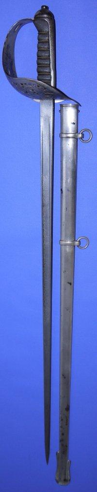 George V Border Regiment Officer's Wilkinson Sword